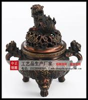 铜香爐雕塑