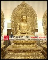 五圣佛銅雕塑
