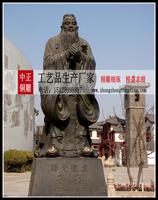 孔子銅像图片