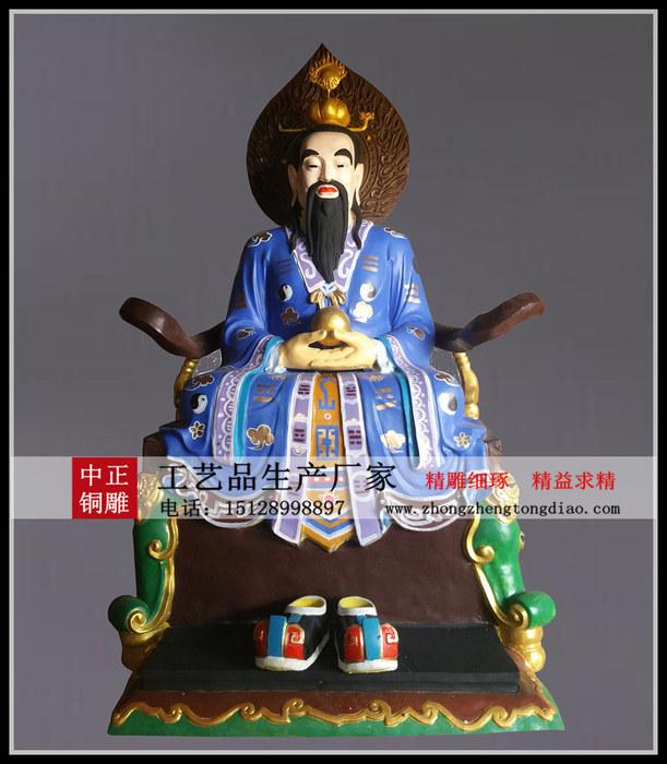 道教三清銅像质量