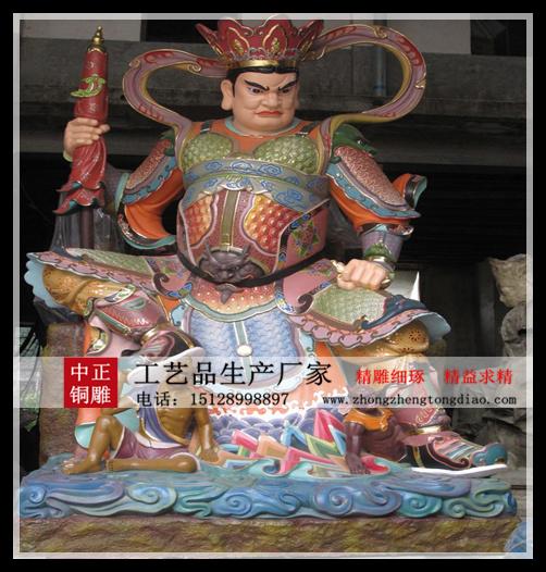 四大天王銅雕生产厂家
