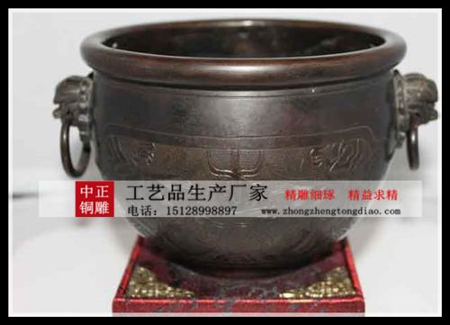 大缸銅雕生产厂家