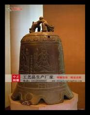 專業定做仿古銅鍾_銅鍾制作價格歡迎咨詢中正銅鍾雕塑生産廠家。