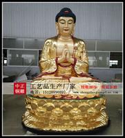 五方佛銅像