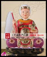 骊山老母銅像