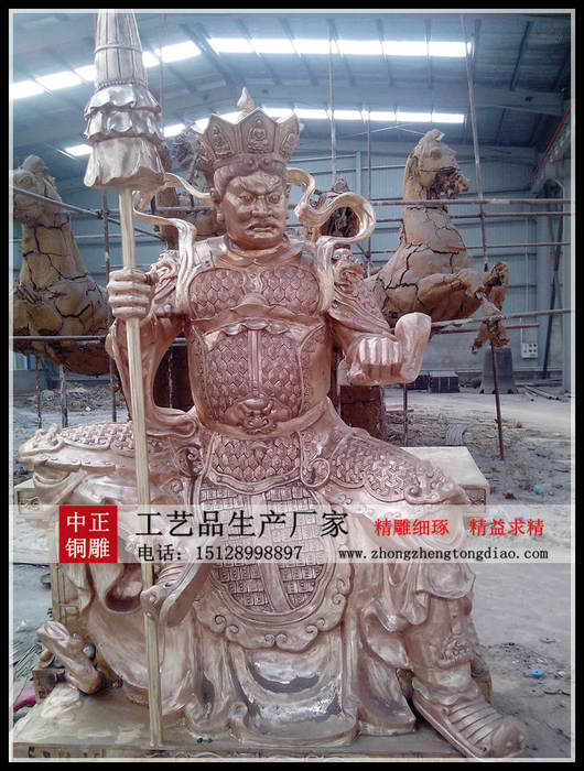 四大金刚铜像供应商