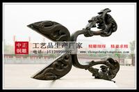 景觀雕塑金蛟剪