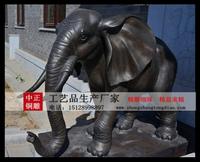 铸銅雕塑銅大象雕塑