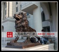 铸銅獅子雕塑