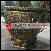 鑄銅大缸雕塑