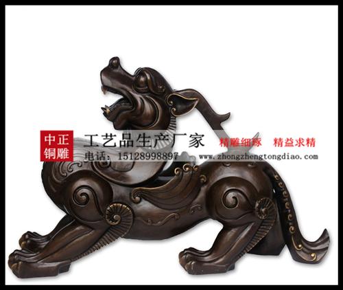 中正貔貅銅雕生产厂家专业销售銅貔貅_銅貔貅摆件批发,欢迎来电垂询。