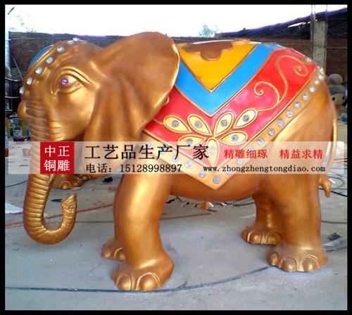 优质铜雕大象