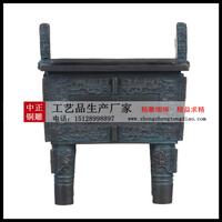 校園銅鼎雕塑