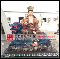 文殊菩萨銅雕制作