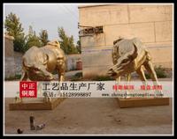 銅牛雕塑圖片