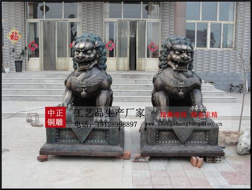 销售铜狮子