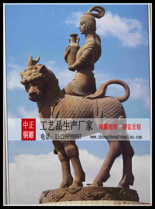 生产麒麟仙子雕塑