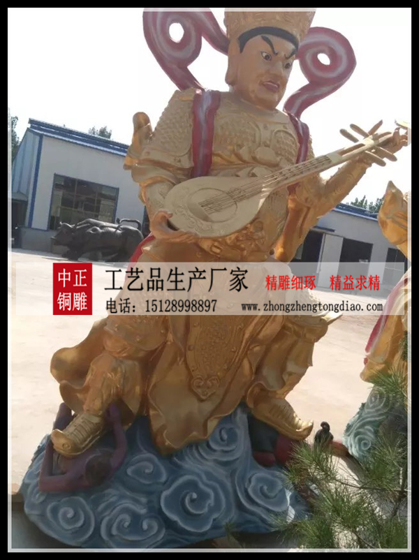 佛教四大天王雕塑_四大天王雕塑廠家歡迎新老客戶來電垂詢。