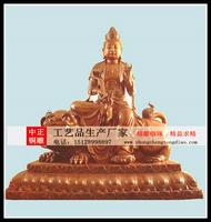 普賢文珠銅像