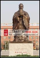 生产校园孔子銅像