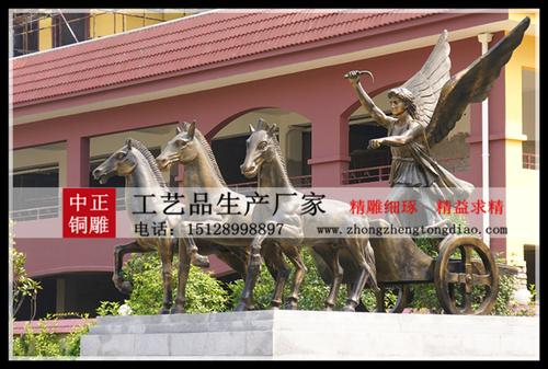 生产铜马雕塑