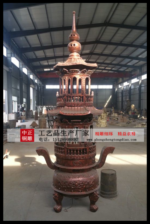 定制铜香炉