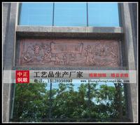 銅浮雕鑄造廠家