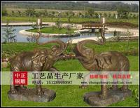 銅大象雕塑