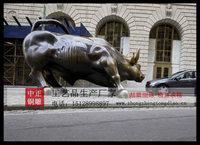 銅雕华尔街牛