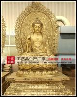 五圣佛銅雕