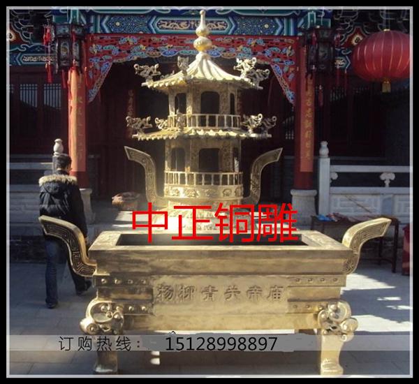 寺院为什么要用铜香炉_铜香炉铸造厂