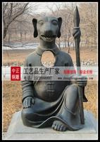 銅雕十二生肖狗