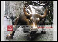 華爾街銅牛雕塑