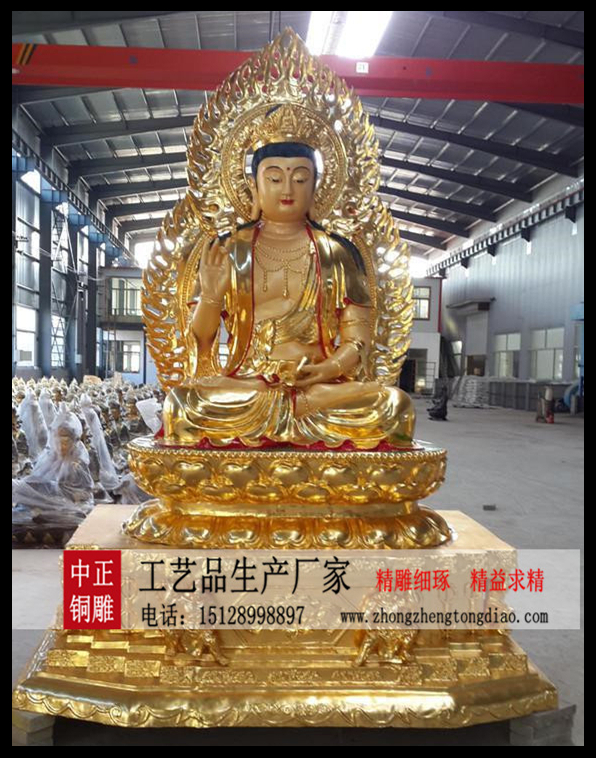 河北中正銅雕厂家专业生产千手观音铜像_銅雕送子观音佛像,电话;15128998897