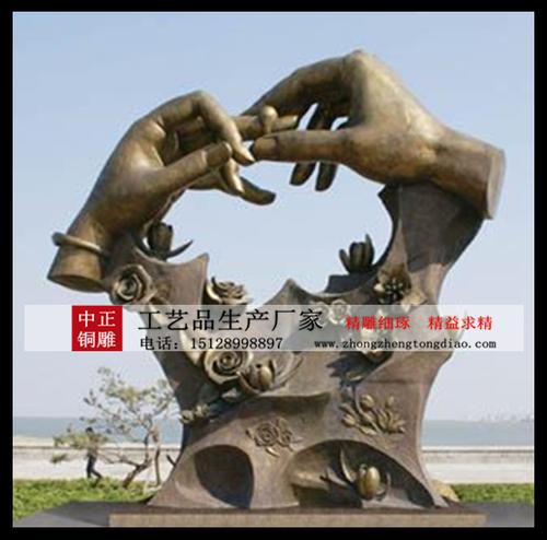 爱情雕塑制作