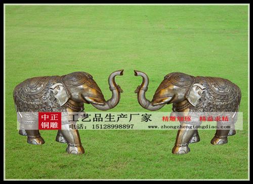 定做铜大象