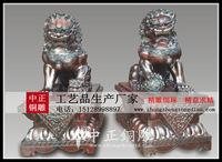 北京故宫狮_北京宫门狮_北京銅獅子_中正銅雕