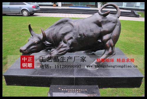 铜牛雕塑价格
