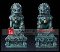 青銅獅子-青銅獅子生産廠家定做青銅獅子報價及圖片