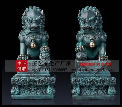 铜雕青铜狮子