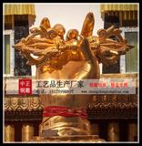 金刚杵銅雕