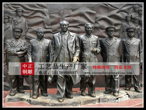 生产革命战士雕塑