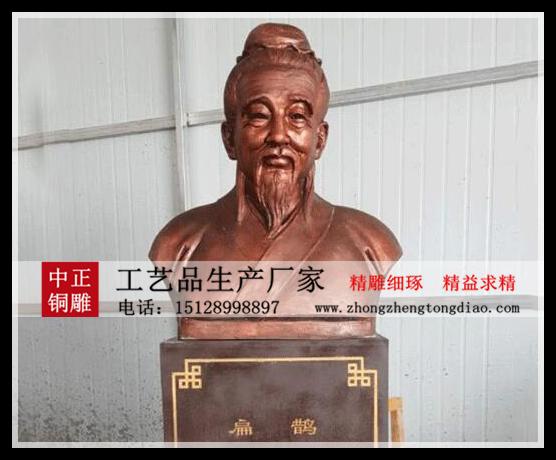 专业铸造扁鹊铜像—銅雕扁鹊胸像_扁鹊铜像雕塑.欢迎各界人士来电垂询。