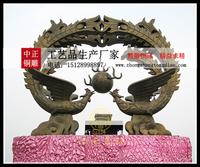 铜鳳凰雕塑价格