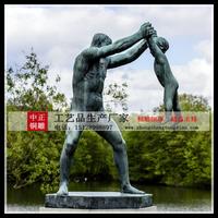 園林西方裸體雕塑