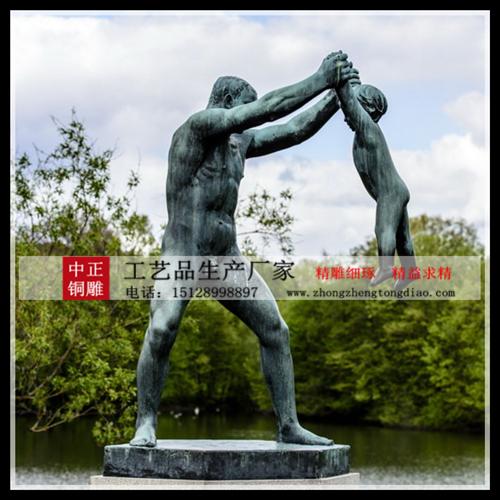 定制人物裸体雕塑