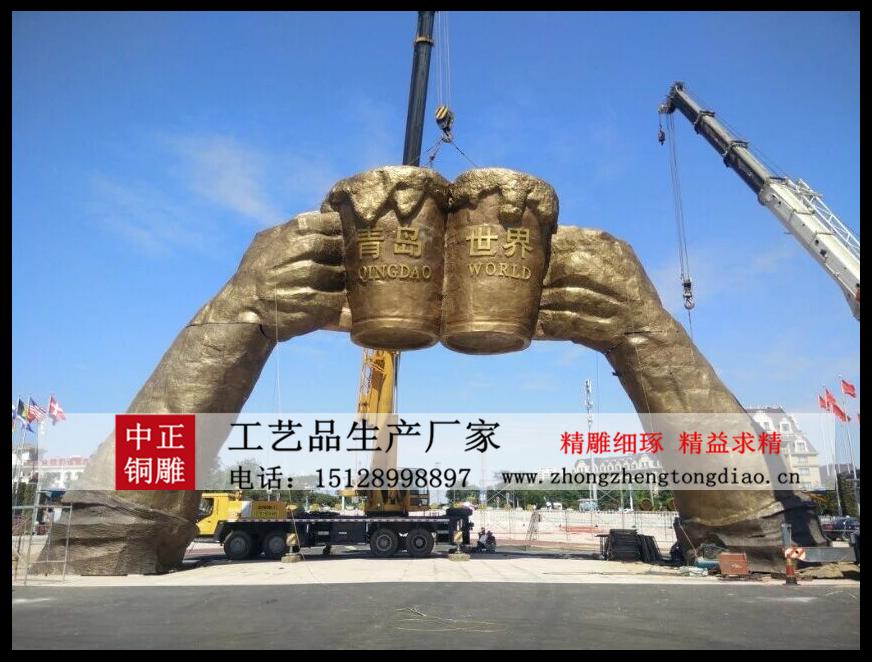 ?城市景觀雕塑-廣場景觀雕塑_大型景觀雕塑制作请咨询河北中正銅雕生产厂家。