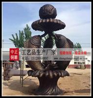 喷泉銅雕厂