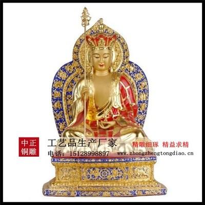 銅雕地藏菩萨