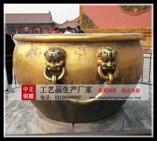 銅大缸雕塑公司
